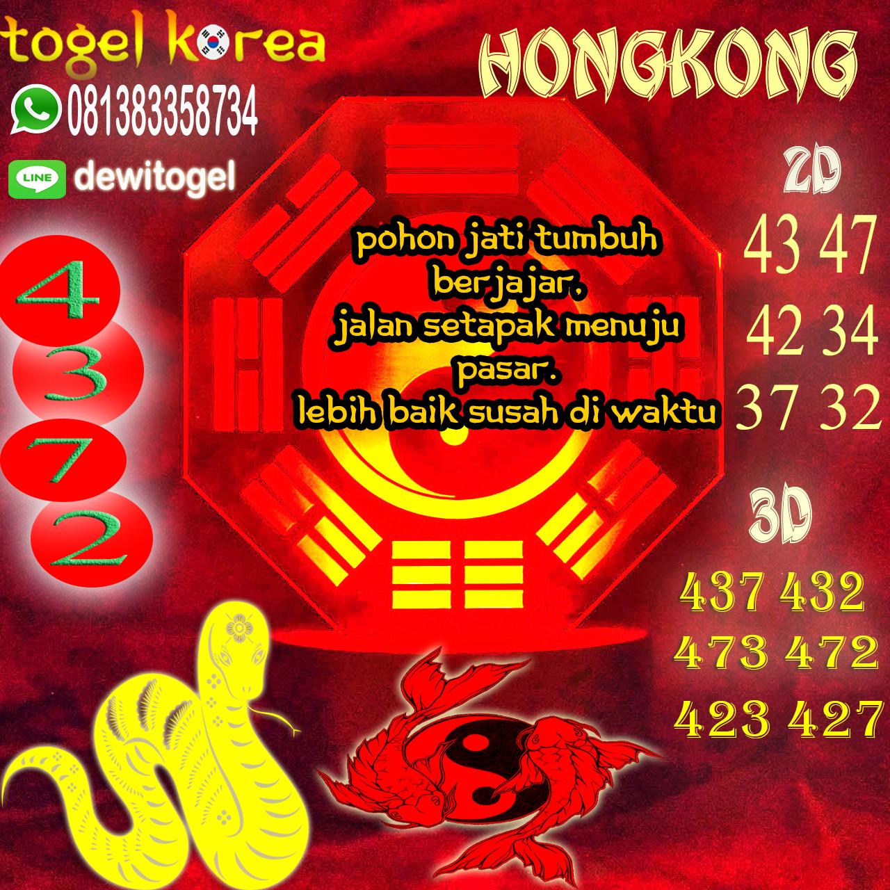 PREDIKSI JITU HONGKONG (HK) 10 AGUSTUS 2020