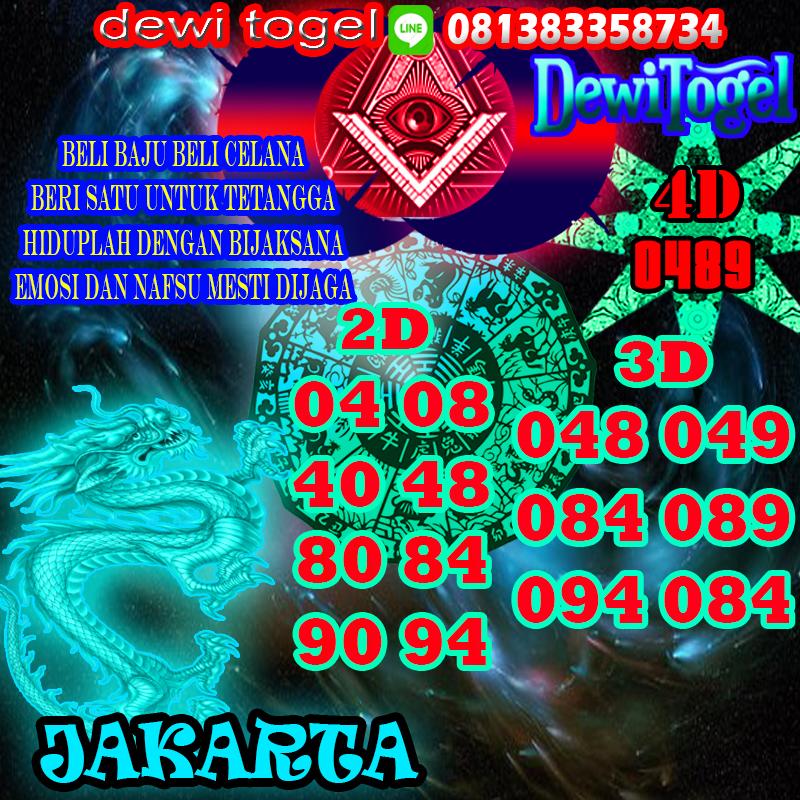PREDIKSI JITU JAKARTA (JKT) 1 SEPTEMBER 2020