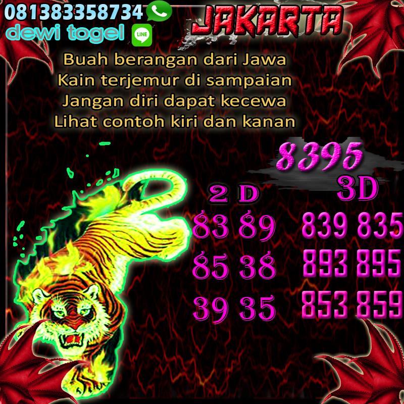 PREDIKSI JITU JAKARTA (JKT) 27 AGUSTUS 2020
