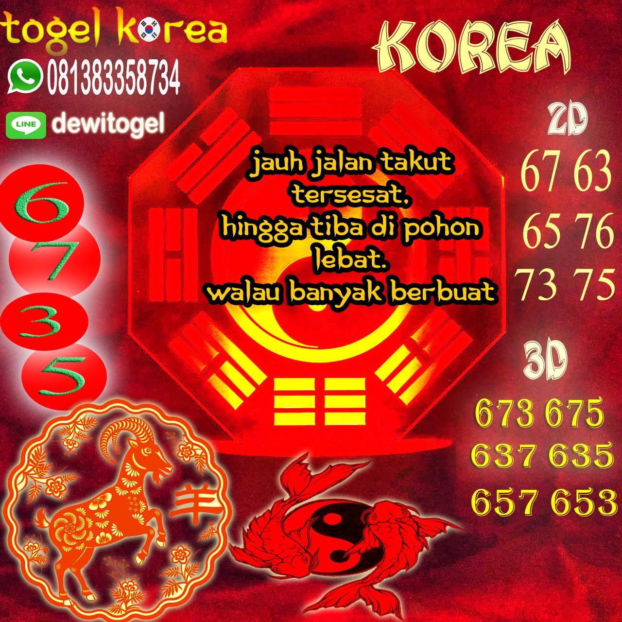 PREDIKSI JITU KOREA (KOR) 10 AGUSTUS 2020