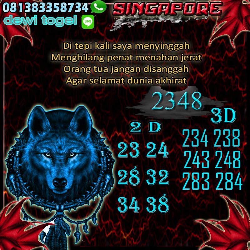 PREDIKSI JITU SINGAPORE (SGP) 24 AGUSTUS 2020