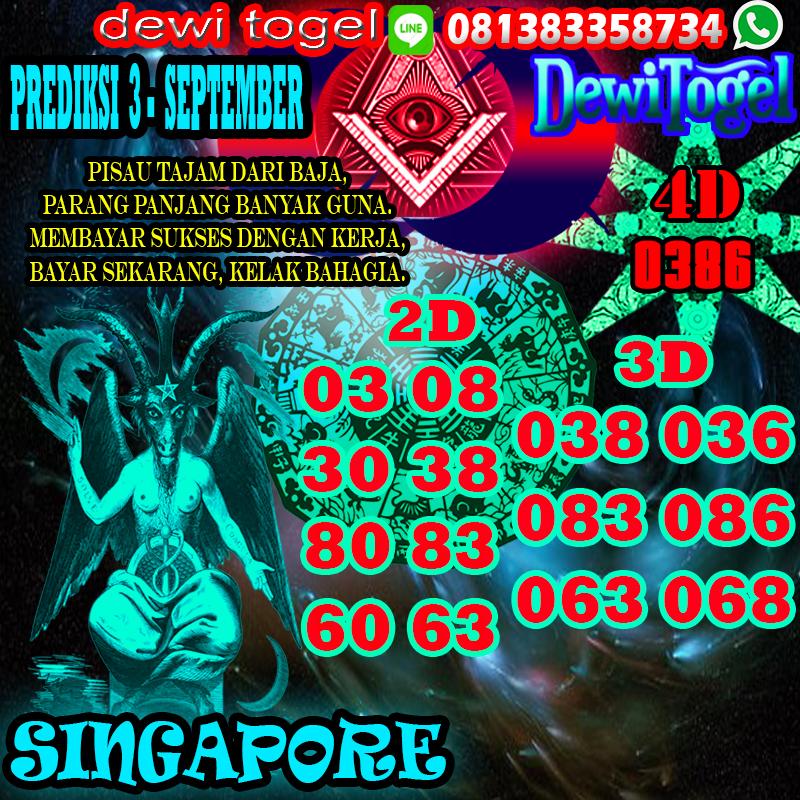 PREDIKSI JITU SINGAPORE (SGP) 3 SEPTEMBER 2020